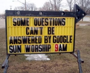 Google - some questions can't be answered by google