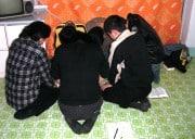 Nordkoreanische Christen beim Beten (Bild: Open Doors)
