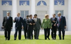 Die Leiter des G8-Gipfels 2007 in Heiligendamm