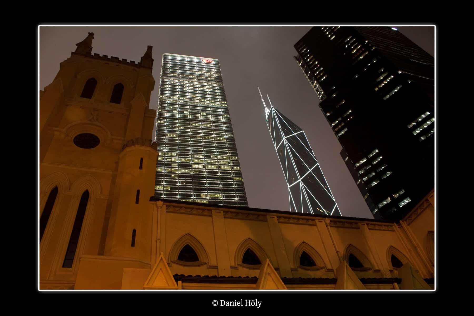 Hong Kong Church and Skyscrapers (Bild: Daniel Höly)
