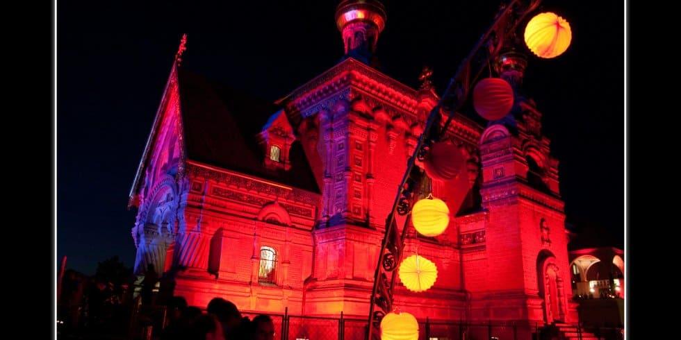 """15 - Illuminationsfest: """"Eine Nacht in rot"""" - Red night (Bild: Daniel Höly)"""