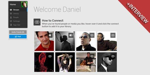 Das neue Myspace (Bild: Myspace/eigenes)