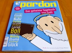 Das Satire-Magazin Pardon: Das Cover (Bild: eigenes)