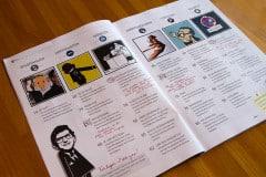 Das Satire-Magazin Pardon: Inhaltsverzeichnis (Bild: eigenes)