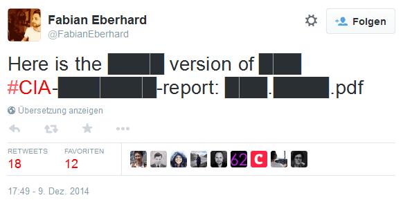 Tweet des Jahres 2014