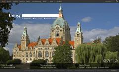 Bing-Startseite