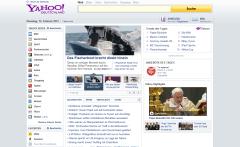 Yahoo-Startseite