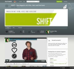 Startnext: SHIFT