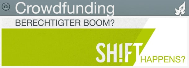 Crowdfunding: Berechtigter Boom? (Bild: Startnext/eigenes)