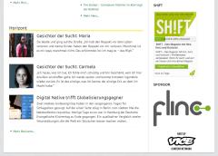 Sponsor: Logo von flinc in der Sidebar