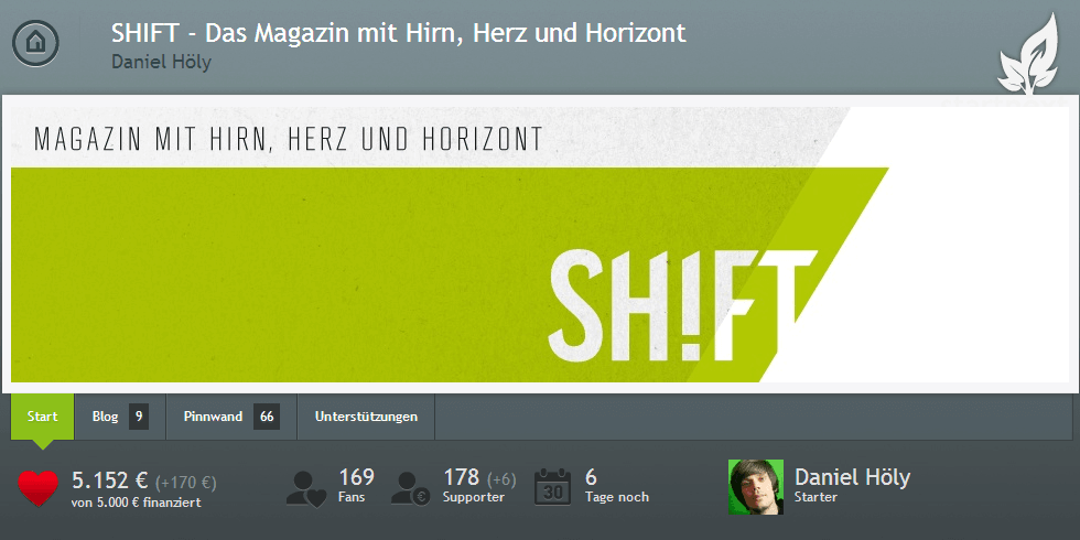 SHIFT happens - We made it