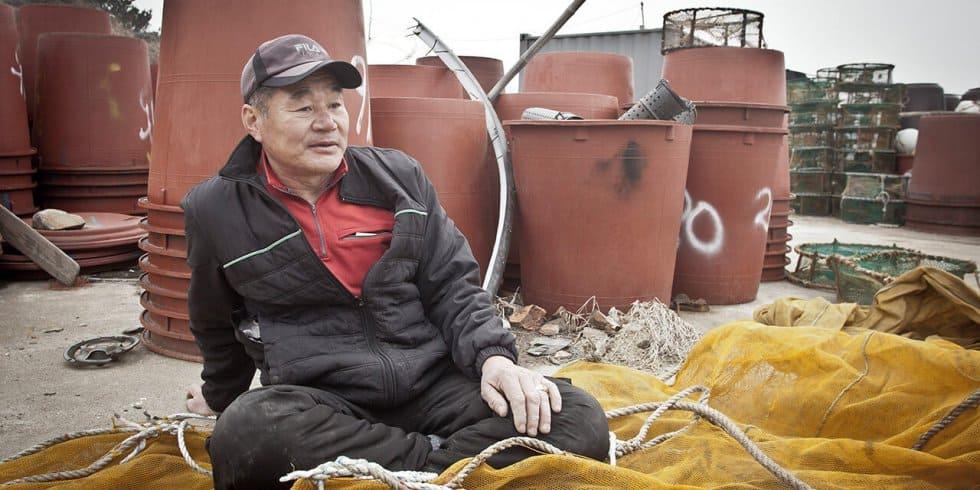 Korea: Fischer im Portrait (Bild: Malte E. Kollenbecker)