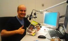 """Daniel Fiene stellt SHIFT in """"Was mit Medien"""" vor (Bild: eigenes)"""