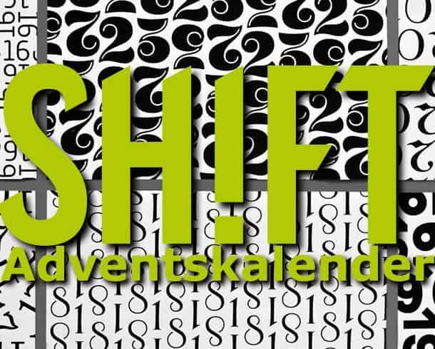 SH!FT-Adventskalender