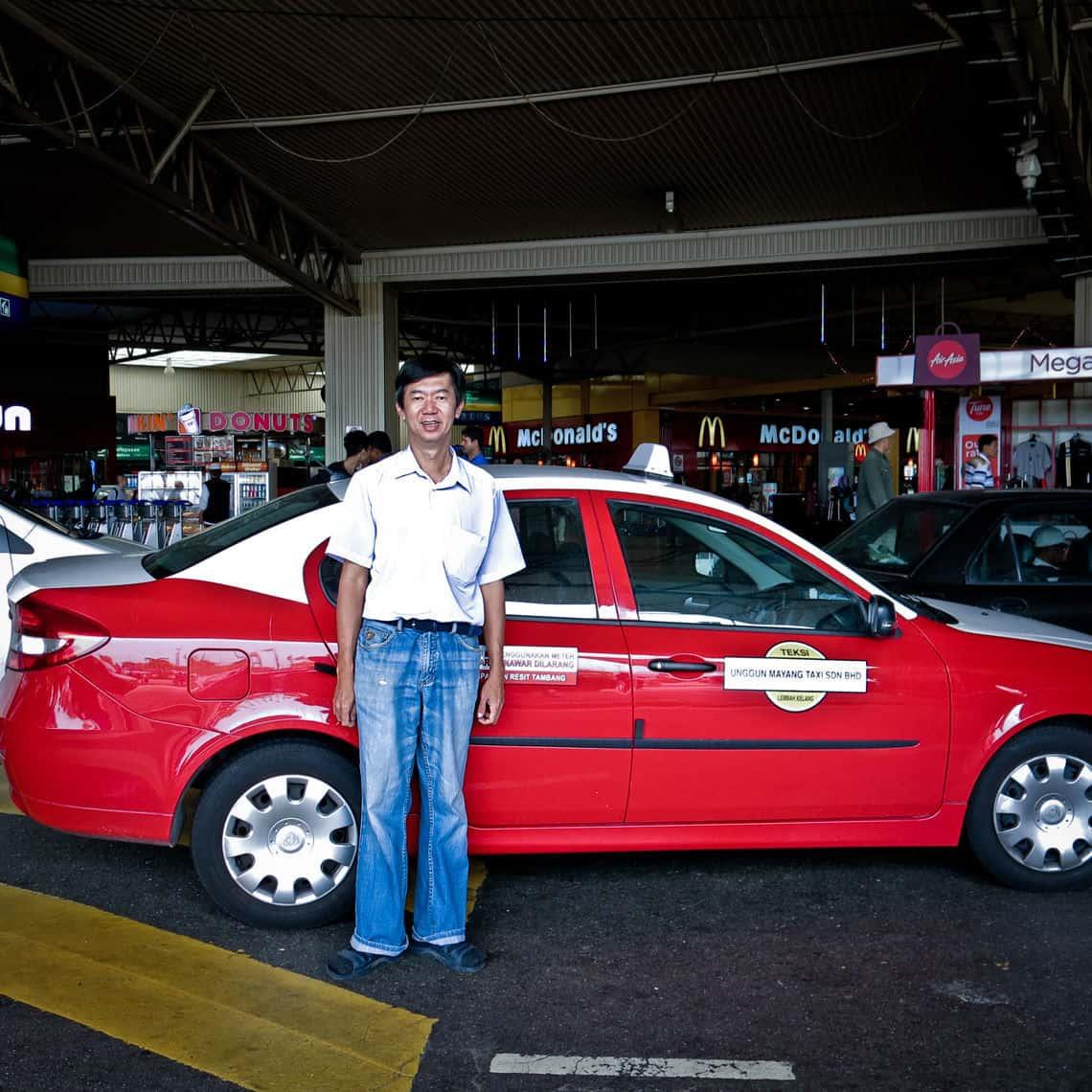 Taxifahrer Ray aus Kuala Lumpur (Bild: Beatrice Tzschentke)