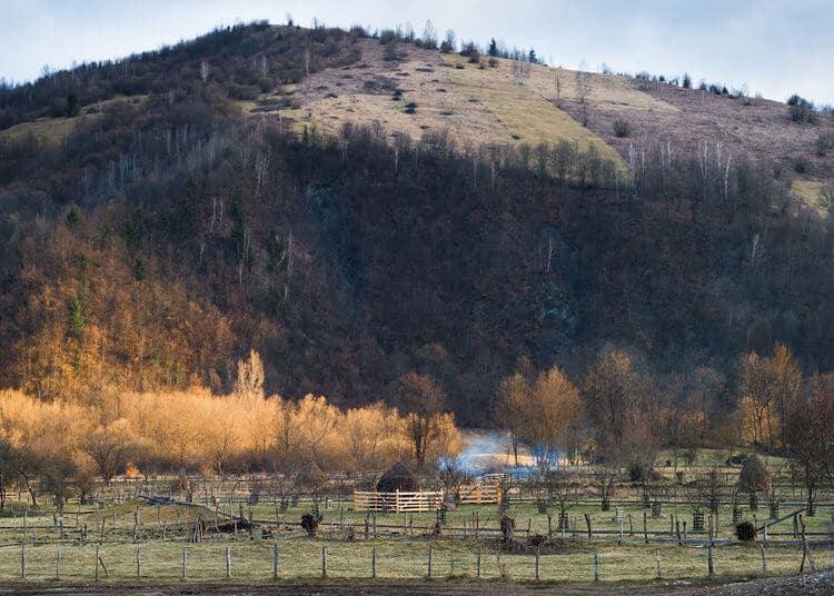 Romania - Lupsa - Landschaft (Bild: David Vogt)