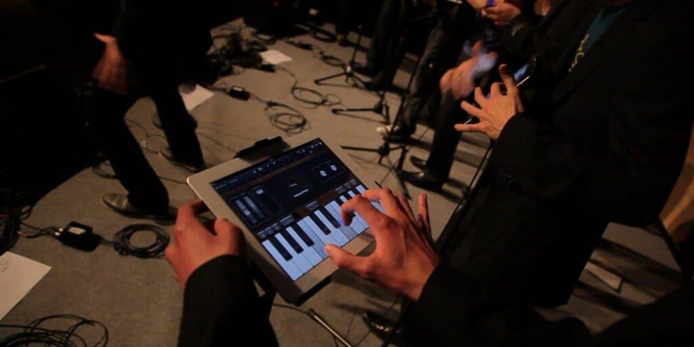 iPad statt Gitarre: Live ist nicht mehr Live