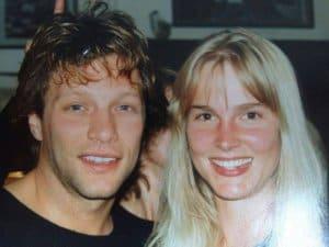 Dagmar Riecke mit John Bon Jovi (Bild: privat)