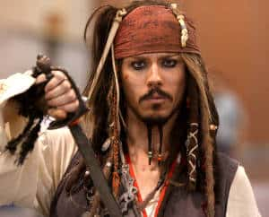 Captain Jack Sparrow (Bild: Gage Skidmore, CC BY-SA 2.0)
