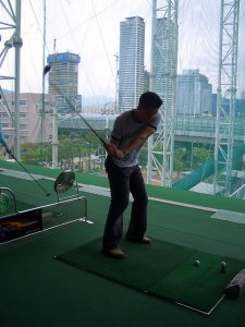 Wegen der Platzknappheit gibt es nicht so viele Golfplätze in Korea, dafür aber viele Abschlagübungsplätze (Bild: Mit freundlicher Genehmigung von Queenbean79)
