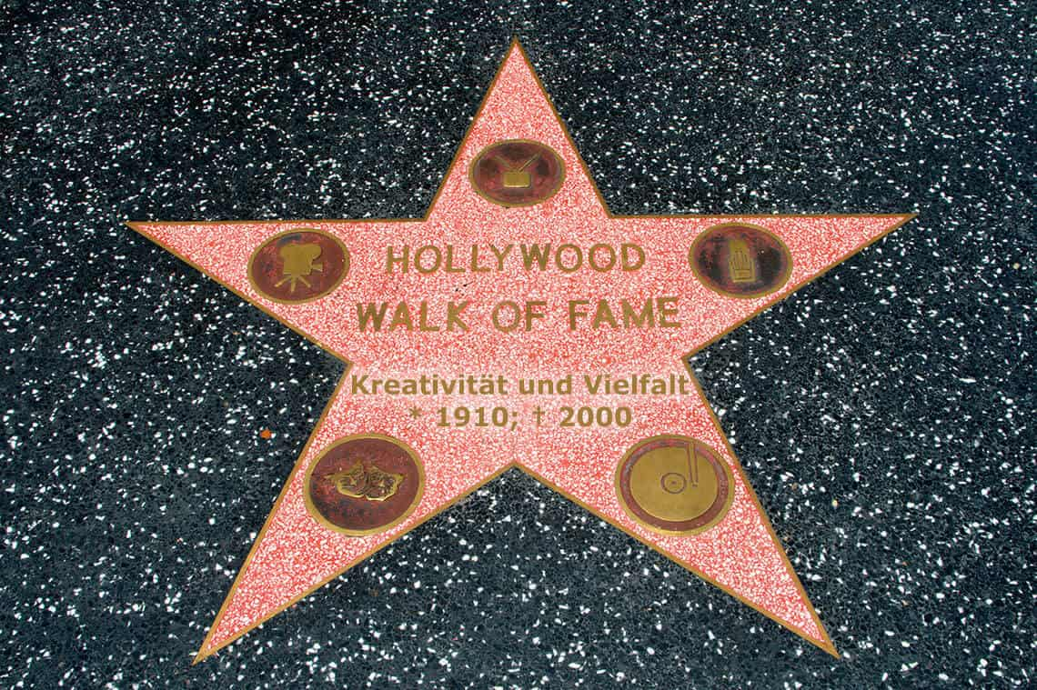 Hollywood Walk of Fame (Bild: Christian Haugen, CC BY 2.0)