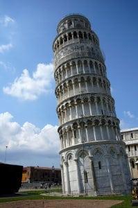 Der Schiefe Turm von Pisa (Bild: Bamshad Houshany, CC BY 2.0)