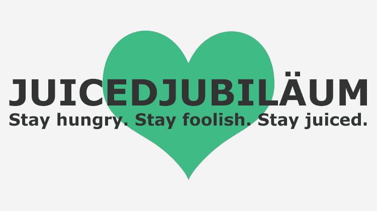 JUICED-Jubiläum