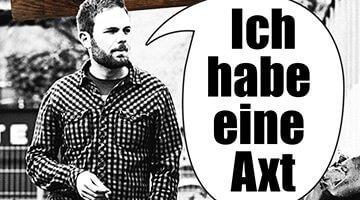 Patrick Salmen - Ich habe eine Axt (Bild: Droemer Knaur)