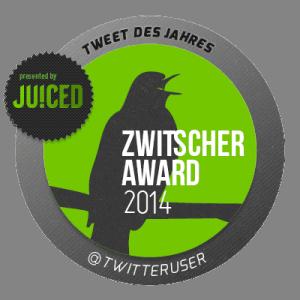 Zwitscheraward 2014