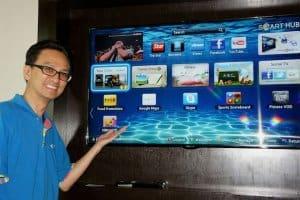 Immer wieder was Neues: Smart TV von Samsung. (Bild: Vernon Chan, CC BY 2.0)
