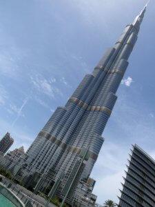 Auch am Bau des höchsten Gebäudes der Welt Burj Khalifa in Dubai war Samsung C & T beteiligt. (Bild: Rob Young, CC BY 2.0)
