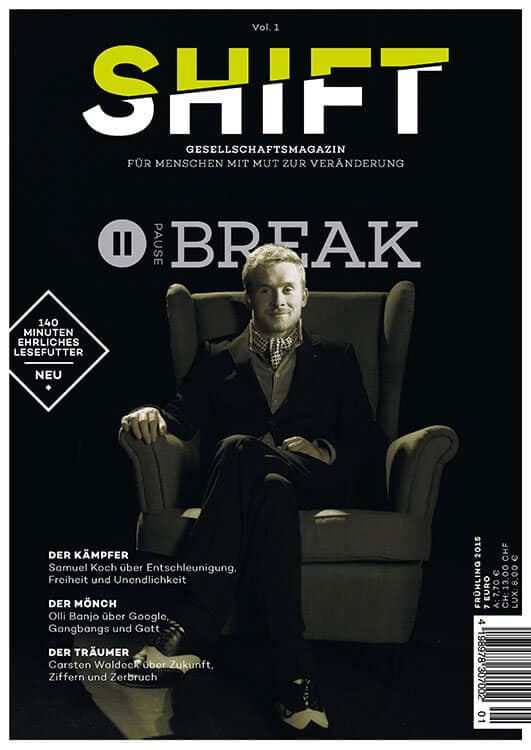 "Jetzt kaufen: SHIFT Vol. 1 ""Break"""