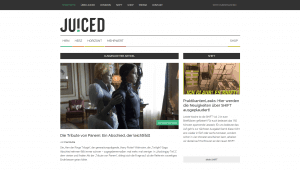 JUICED: Altes Design (Screenshot)