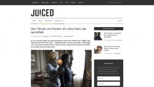 JUICED: Altes Design - Artikel (Screenshot)