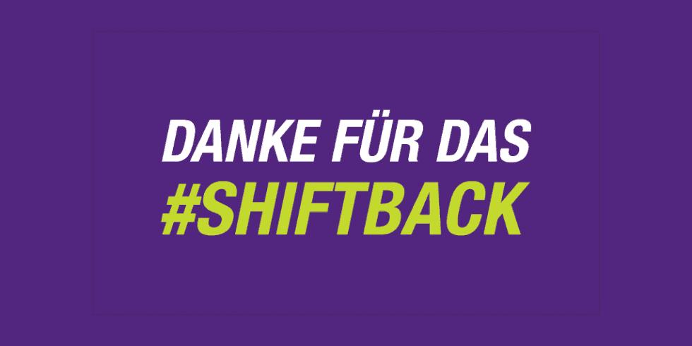 #SHIFTback