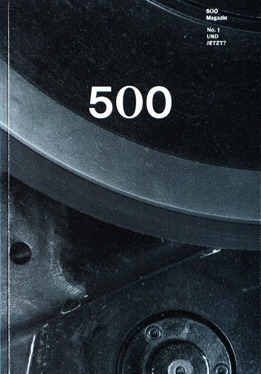 500 Magazin Cover