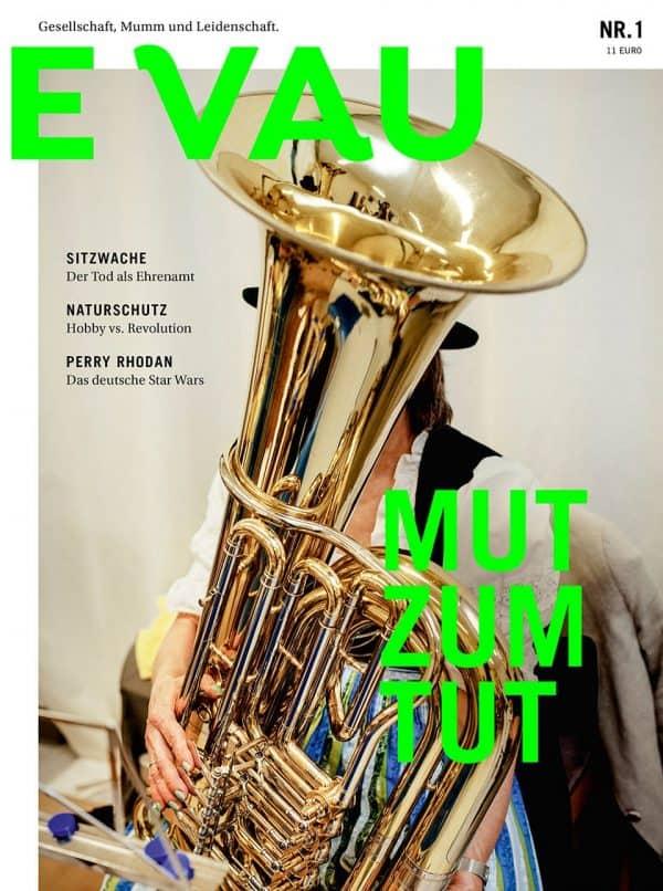 EVAU Nr. 1 Cover