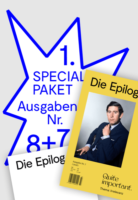 Die Epilog 08: Spezialangebot 1